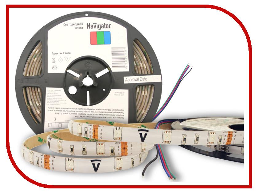 Светодиодная лента Navigator 71 428 NLS-5050RGB30-7.2-IP65-12V R5<br>