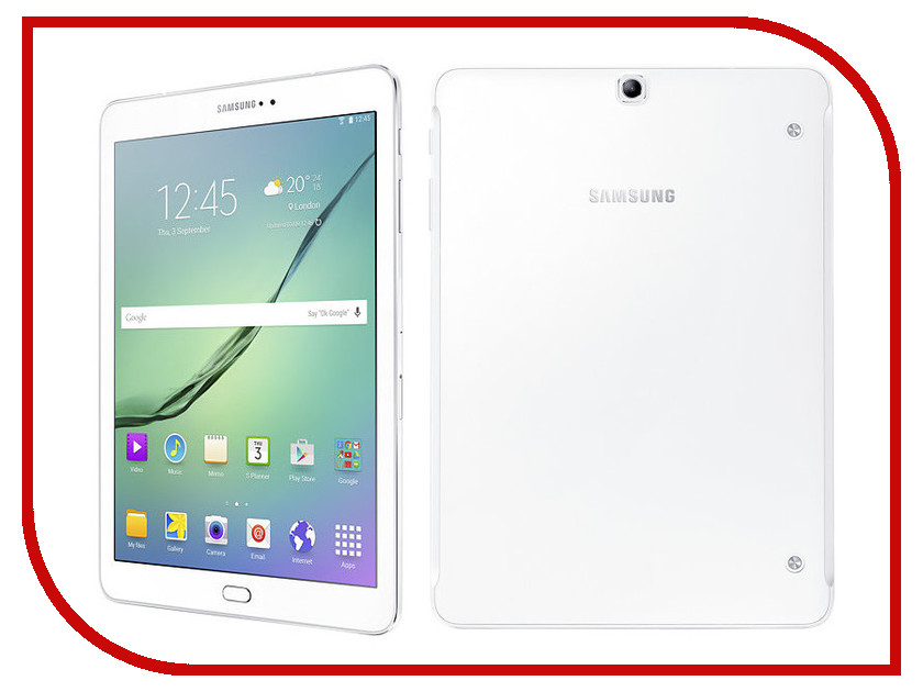 Планшет Samsung SM-T819 Galaxy Tab S2 9.7 - 32Gb LTE Wi-Fi White SM-T819NZWESER (Qualcomm Snapdragon 652 1.8 GHz/3072Mb/32Gb/Wi-Fi/Bluetooth/Cam/9.7/2048x1536/Android) планшет samsung sm t719n galaxy tab s2 8 0 32gb lte black sm t719nzkeser qualcomm snapdragon 652 1 8 ghz 3072mb 32gb wi fi bluetooth cam 8 0 2048x1536 android