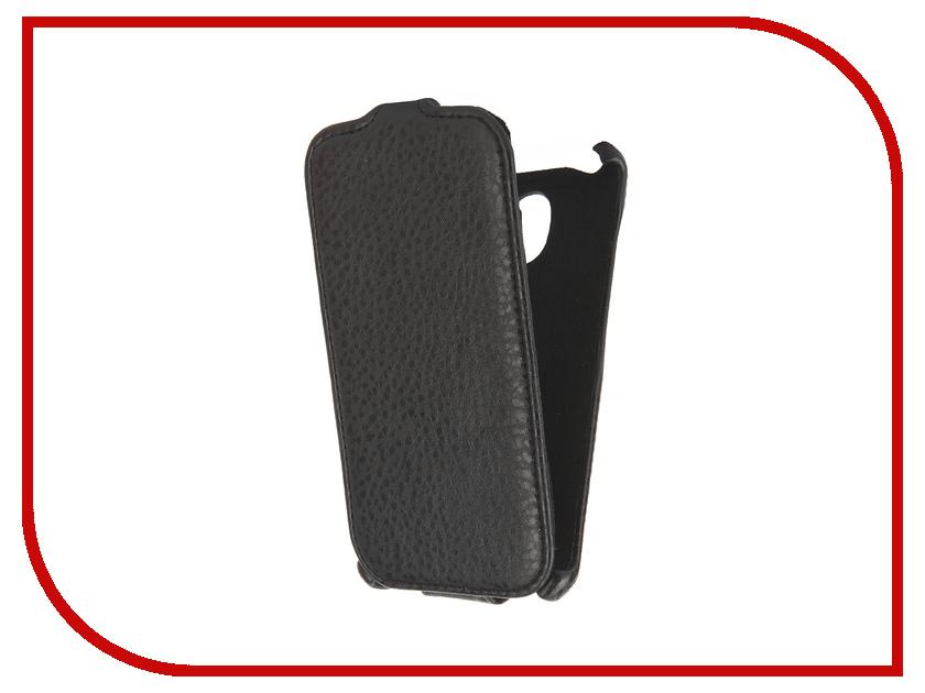 Аксессуар Чехол Prestigio MultiPhone Muze C3 PSP3504DUO Cojess Экокожа Флотер Black<br>