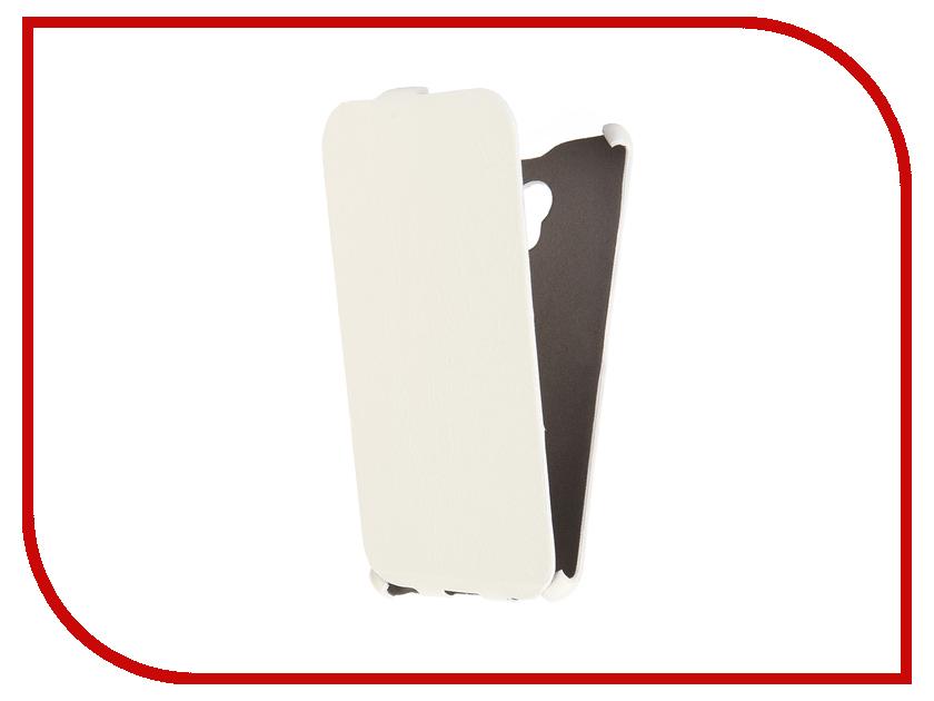 Аксессуар Чехол Meizu M3 Note Cojess Ultra Slim Экокожа Флотер White<br>