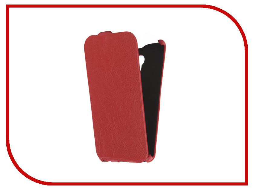 Аксессуар Чехол Meizu M3 Note Cojess Ultra Slim Экокожа Флотер Red