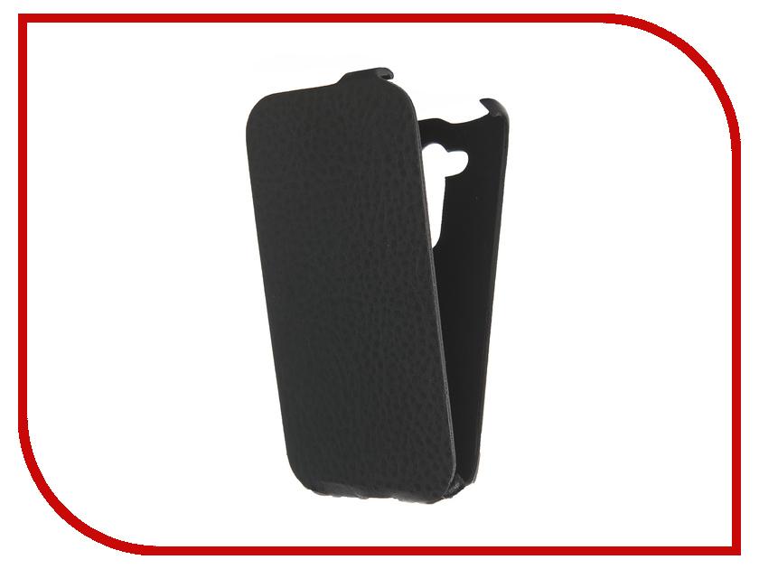 Аксессуар Чехол ASUS ZenFone Go ZB452KG Cojess Ultra Slim Экокожа Флотер Black asus zenfone go zb452kg black