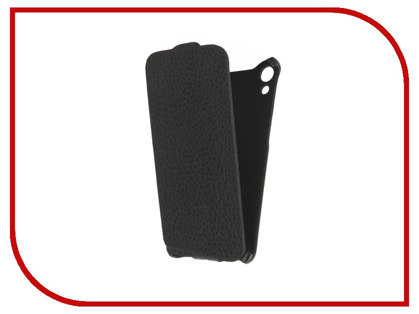Аксессуар Чехол HTC Desire 728 Cojess Ultra Slim Экокожа Флотер Black<br>