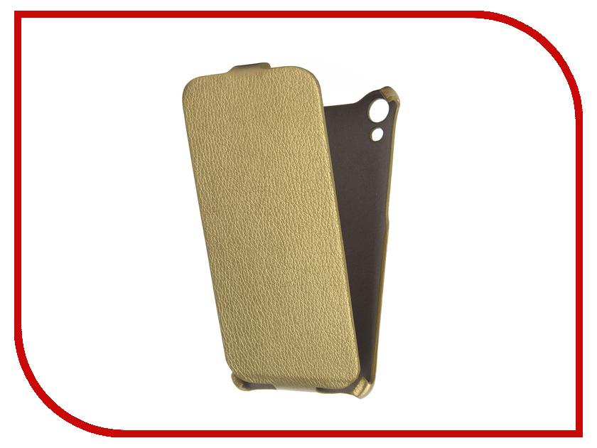 ��������� ����� HTC Desire 728 Cojess Ultra Slim ������� ������ Gold