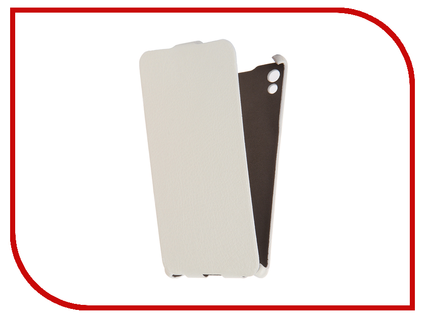 Аксессуар Чехол Sony Xperia Z5 Cojess Ultra Slim Экокожа Флотер White