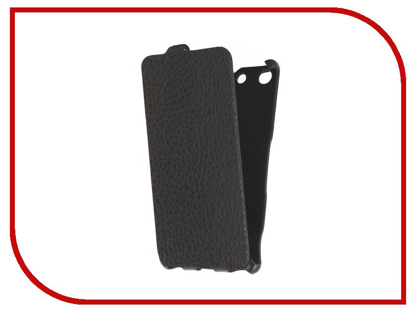 Аксессуар Чехол Sony Xperia M5 Cojess Ultra Slim Экокожа Флотер Black<br>