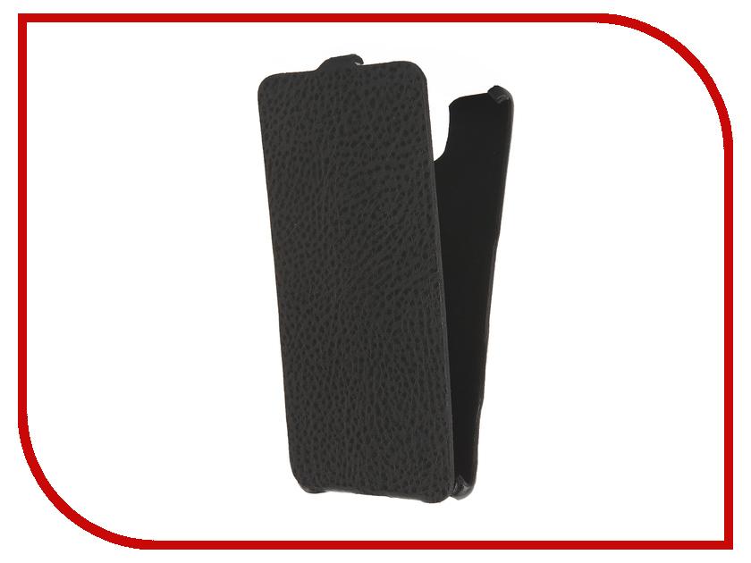Аксессуар Чехол Sony Xperia C5 Ultra Cojess Ultra Slim Экокожа Флотер Black<br>