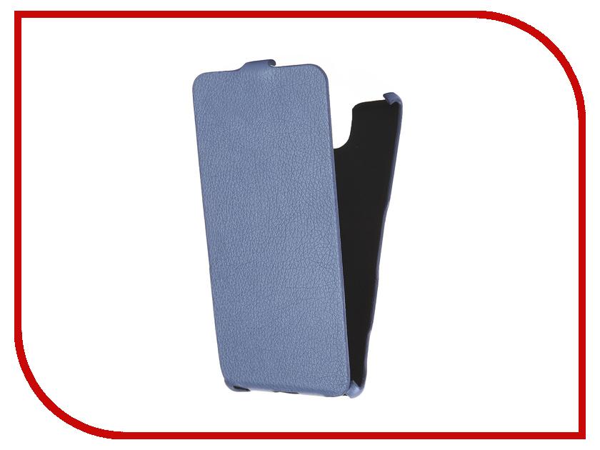 Аксессуар Чехол Sony Xperia C5 Ultra Cojess Ultra Slim Экокожа Флотер Blue
