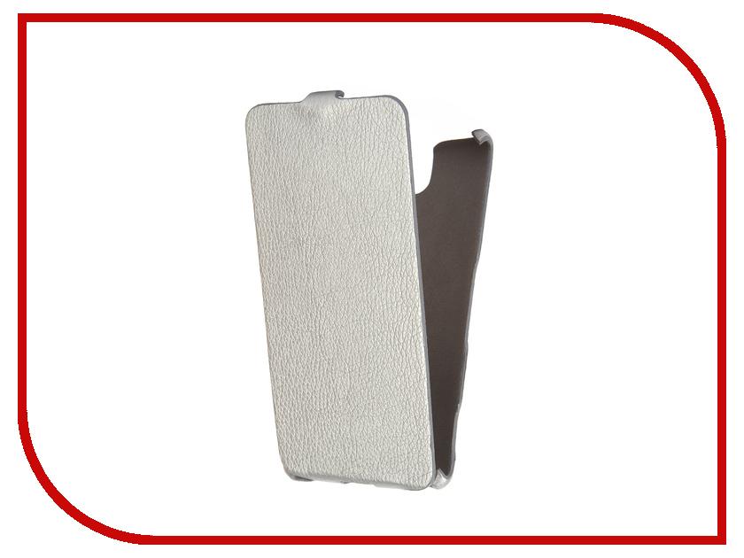 Аксессуар Чехол Sony Xperia C5 Ultra Cojess Ultra Slim Экокожа Флотер Silver аксессуар чехол sony xperia c5 ultra activ black mat 52447
