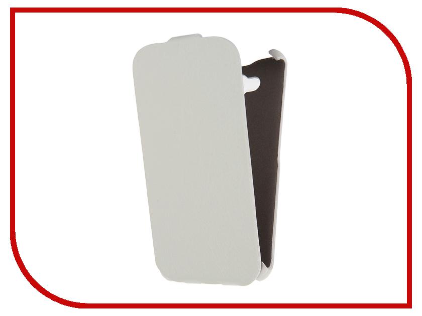 Аксессуар Чехол Huawei Honor 4C Pro Cojess Ultra Slim Экокожа Флотер White<br>