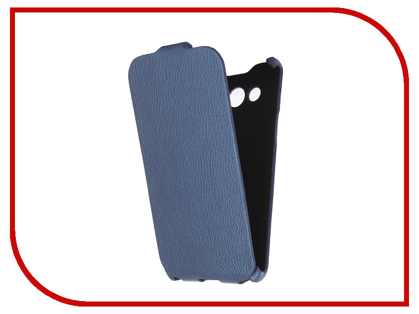 Аксессуар Чехол Cojess for Samsung SM-J710FN Galaxy J7 2016 Ultra Slim Экокожа Флотер Blue<br>