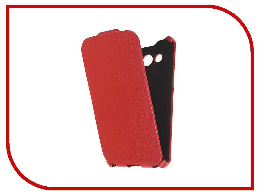 Аксессуар Чехол Cojess for Samsung SM-J710FN Galaxy J7 2016 Ultra Slim Экокожа Флотер Red<br>