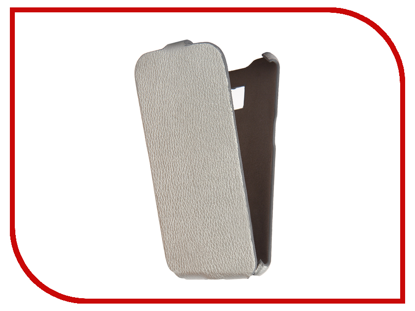 Аксессуар Чехол Cojess for Samsung Galaxy S7 Edge SM-G935F Ultra Slim Экокожа Флотер Silver