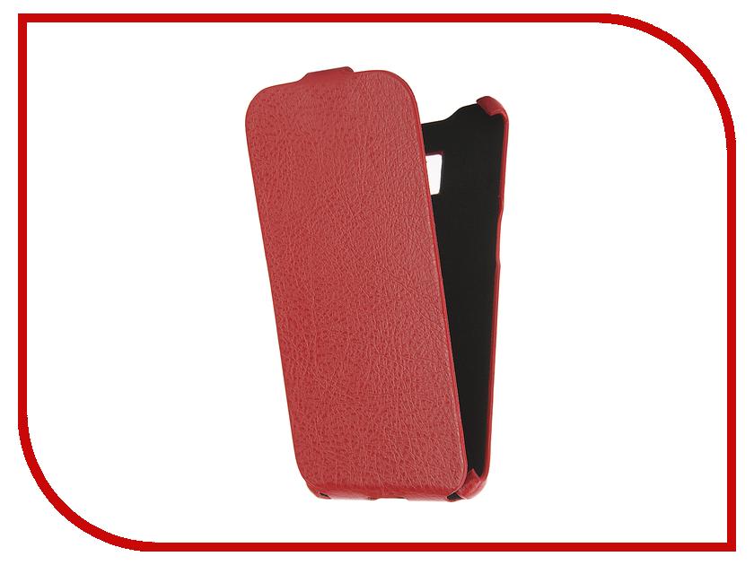 Аксессуар Чехол Cojess for Samsung Galaxy S7 Edge SM-G935F Ultra Slim Экокожа Флотер Red<br>