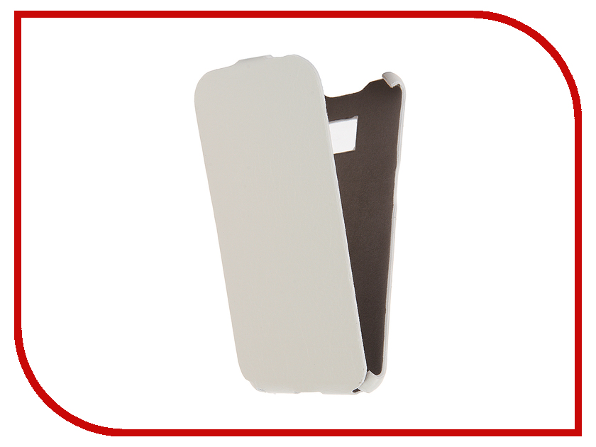 Аксессуар Чехол Cojess for Samsung Galaxy S7 Edge SM-G935F Ultra Slim Экокожа Флотер White