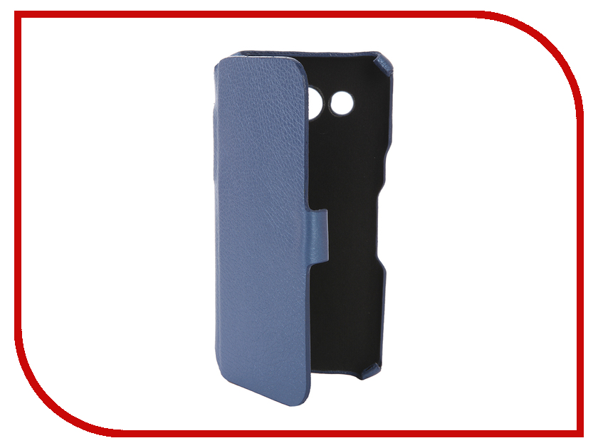 Аксессуар Чехол-книжка Samsung Galaxy J5 2016 Cojess Ultra Slim Экокожа Флотер Blue<br>