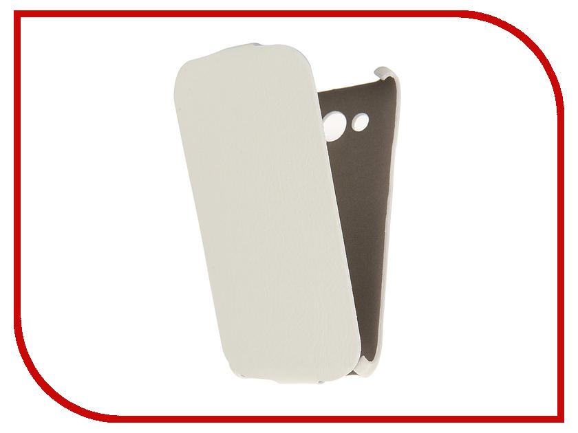 Аксессуар Чехол-книжка Samsung Galaxy J5 2016 Cojess Ultra Slim Экокожа Флотер White<br>