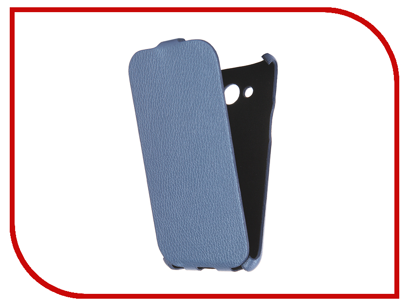 Аксессуар Чехол Samsung Galaxy J3 2016 Cojess Ultra Slim Экокожа Флотер Blue