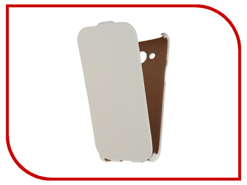 Аксессуар Чехол Samsung Galaxy J3 2016 Cojess Ultra Slim Экокожа Флотер White