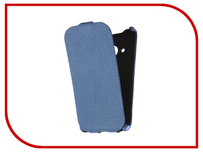 Аксессуар Чехол Samsung Galaxy J1 2016 Cojess Ultra Slim Экокожа Флотер Blue