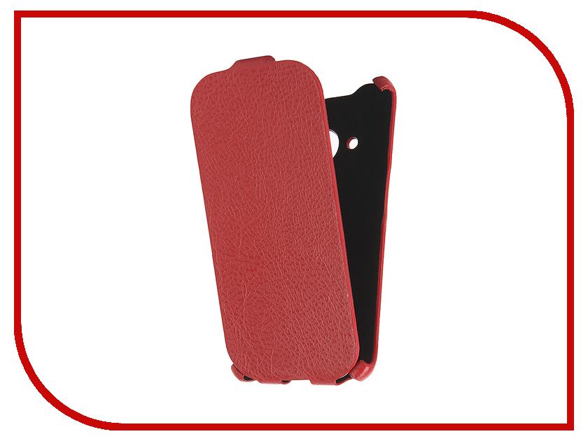 Аксессуар Чехол Samsung Galaxy J1 2016 Cojess Ultra Slim Экокожа Флотер Red аксессуар чехол samsung galaxy j3 2016 cojess ultra slim экокожа флотер red