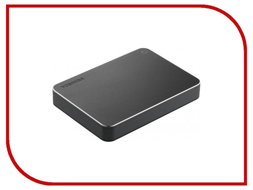 Жесткий диск Toshiba Canvio Premium 3Tb Dark Grey HDTW130EBMCA<br>