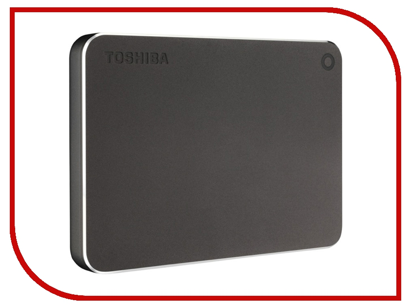 Жесткий диск Toshiba Canvio Premium 1Tb Dark Grey HDTW110EBMAA<br>