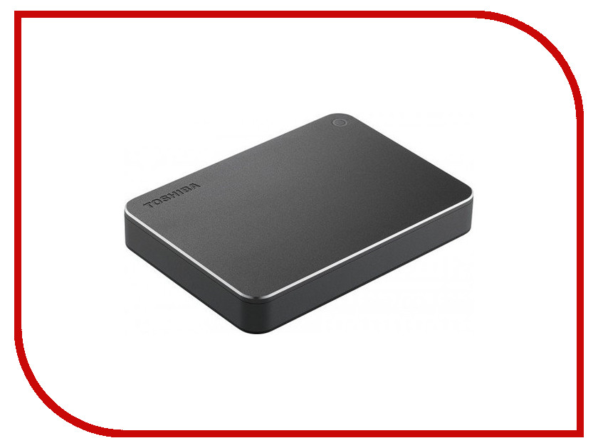 Жесткий диск Toshiba Canvio Premium 3Tb Dark Grey HDTW130EB3CA