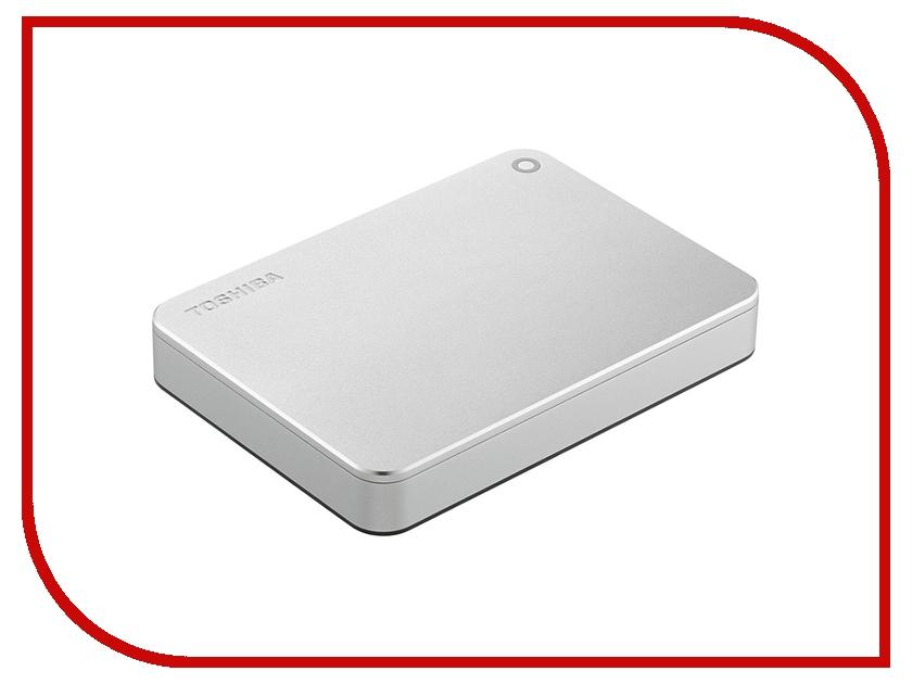 Жесткий диск Toshiba Canvio Premium 2Tb Silver HDTW120ECMCA внешний жесткий диск lacie 9000304 silver