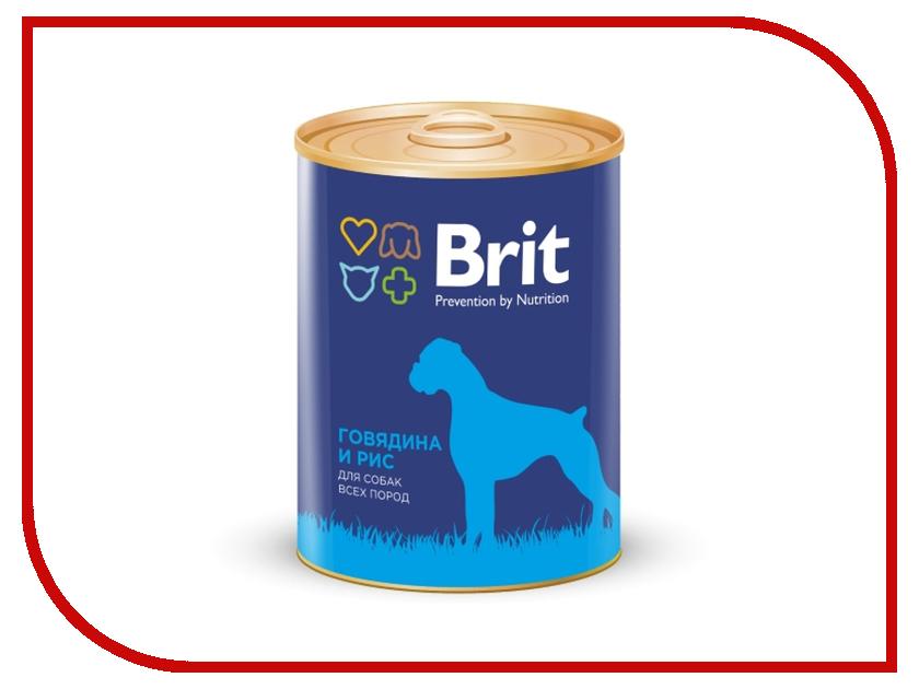 Корм Brit говядина и рис 850g для собак 9280<br>