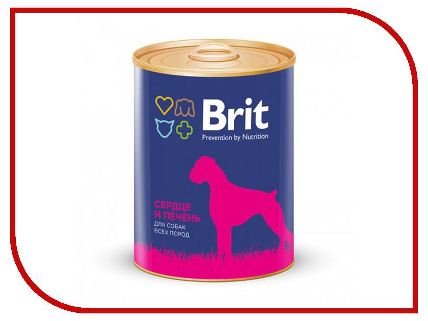 Корм Brit сердце и печень 850g для собак 9303<br>