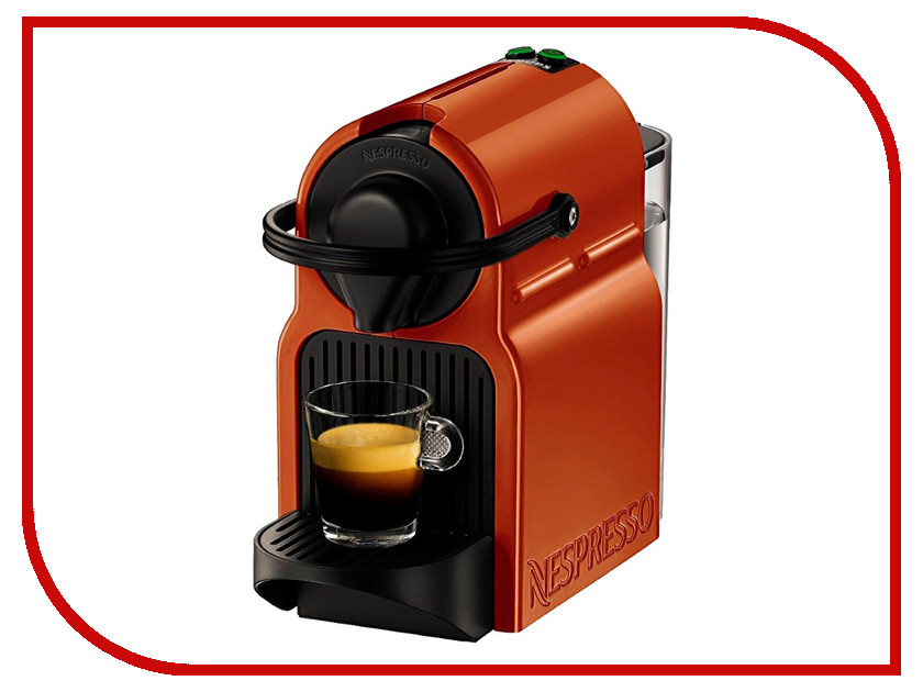 Krups XN 100F10 Inissia Nespresso Orange