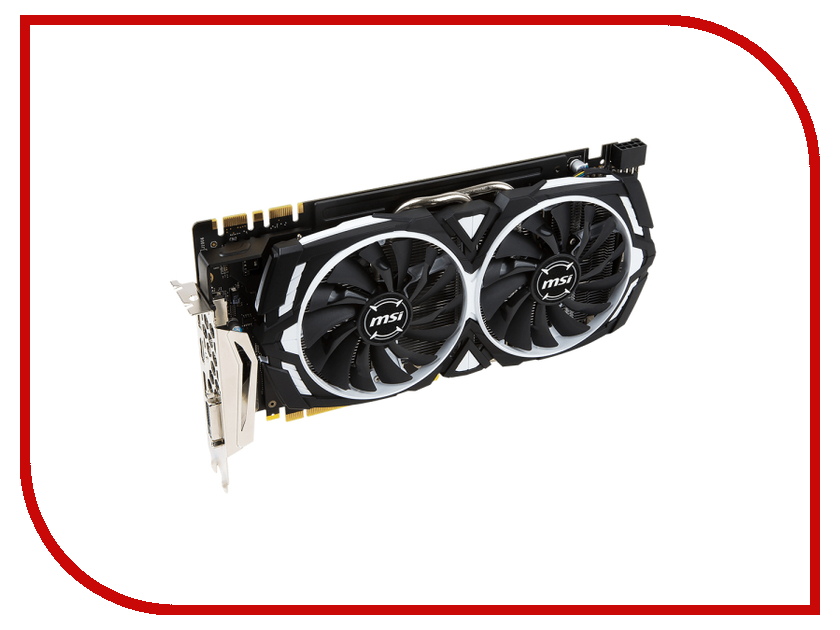 Видеокарта MSI GeForce GTX 1070 1556Mhz PCI-E 3.0 8192Mb 8008Mhz 256 bit DVI HDMI DP HDCP GTX 1070 ARMOR 8G OC видеокарта gigabyte geforce gtx 1070 mini itx oc 8g gigabyte видеокарта gigabyte geforce gtx 1070 mini itx oc 8g