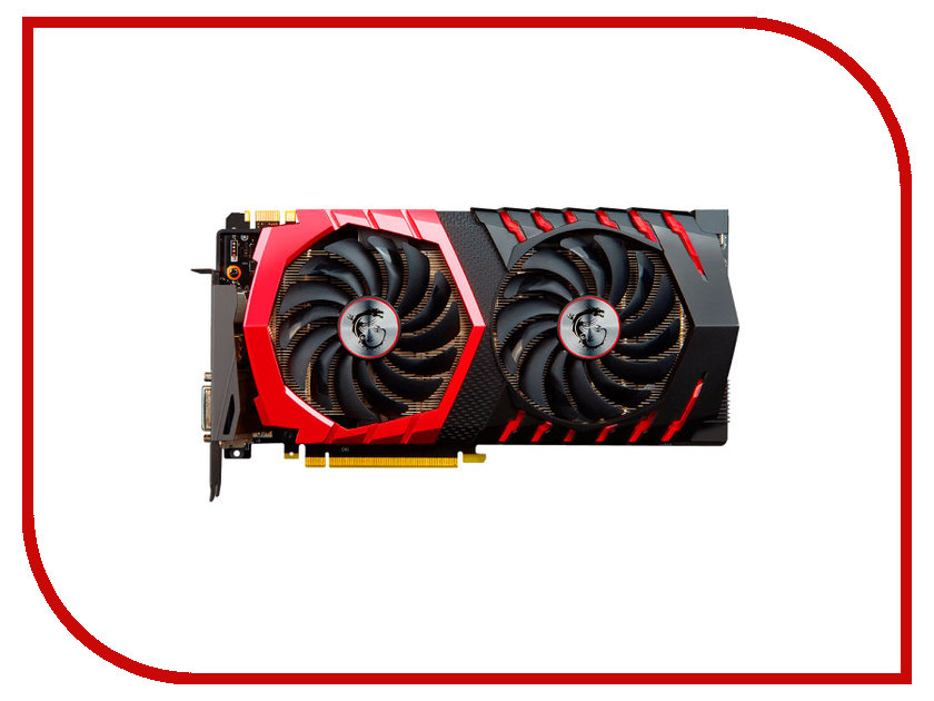 Видеокарта MSI GeForce GTX 1070 1607Mhz PCI-E 3.0 8192Mb 8108Mhz 256 bit DVI HDMI DP HDCP GTX 1070 GAMING X 8G
