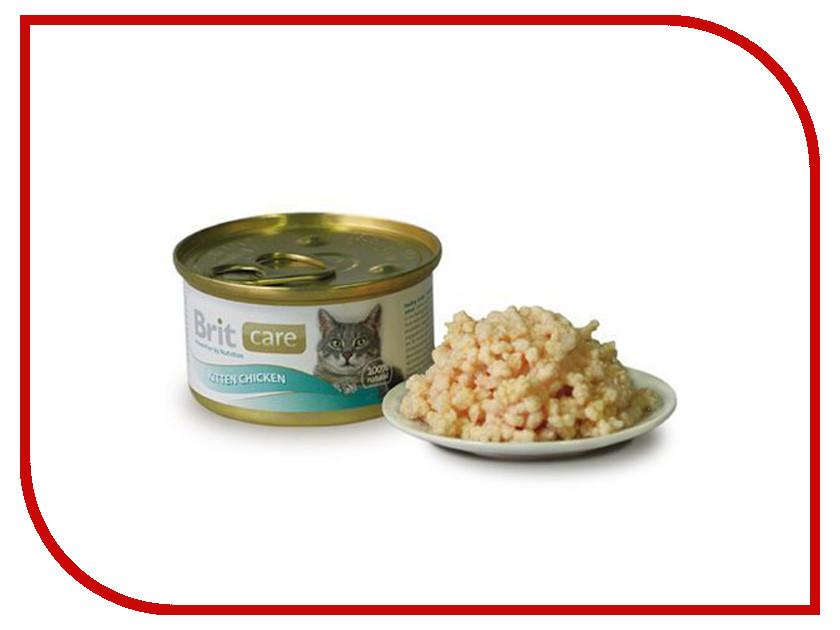 Корм Brit Kitten Chicken 80g для котят 100061/3032