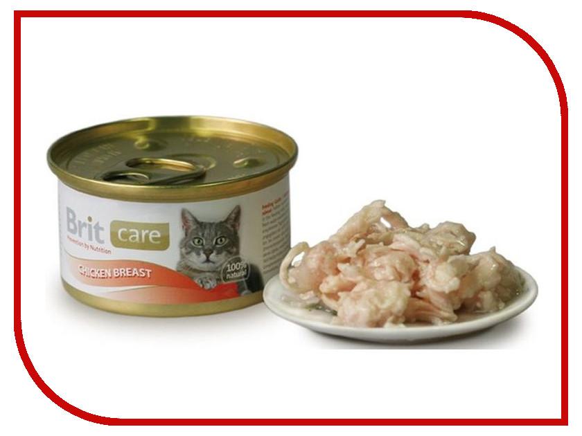 Корм Brit Chicken Breast 80g для кошек 100064/3063