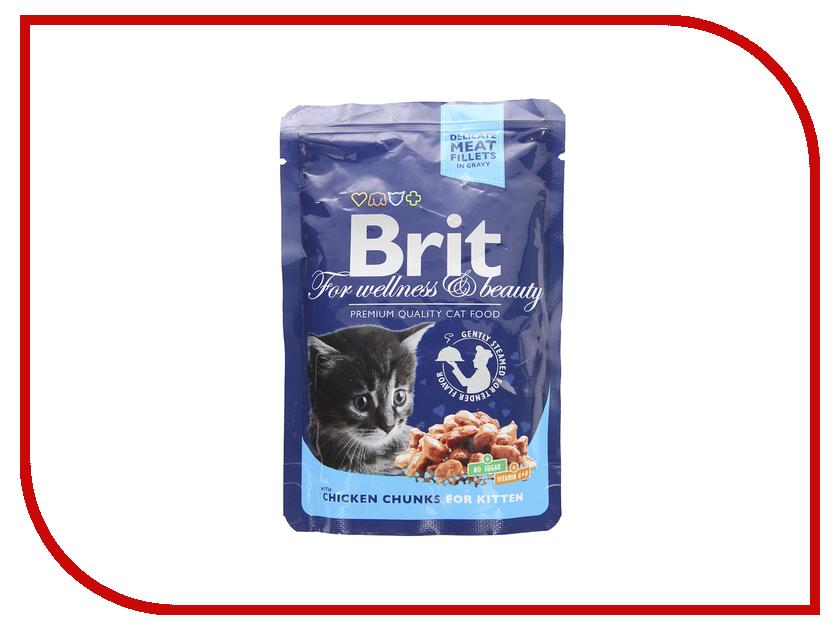 Корм Brit Chicken 100g для котят 100309/6316