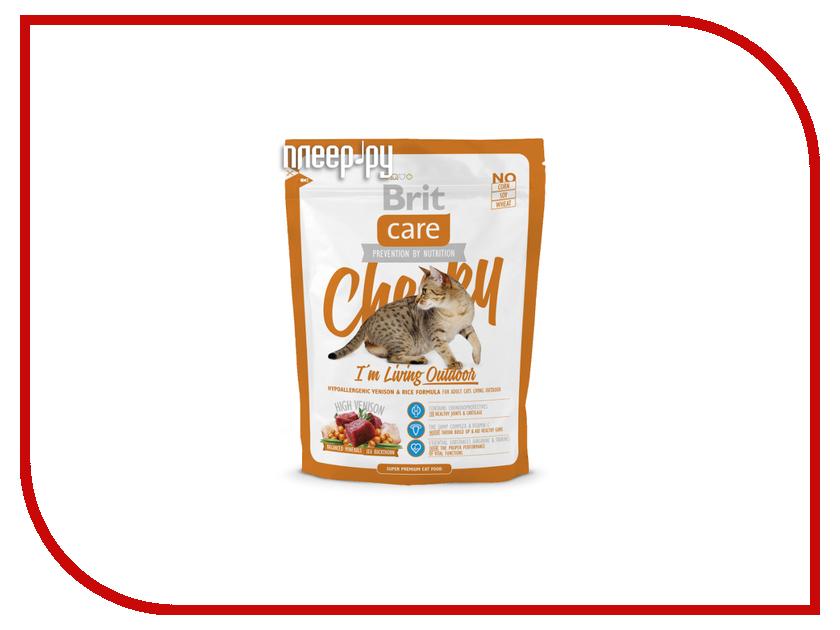 Корм Brit Care Cat Cheeky Outdoor 0.4kg для кошек 132614/5685<br>