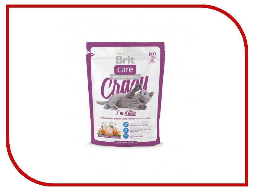 Корм Brit Care Cat Crazy Kitten 0.4kg для котят 132602/5531<br>