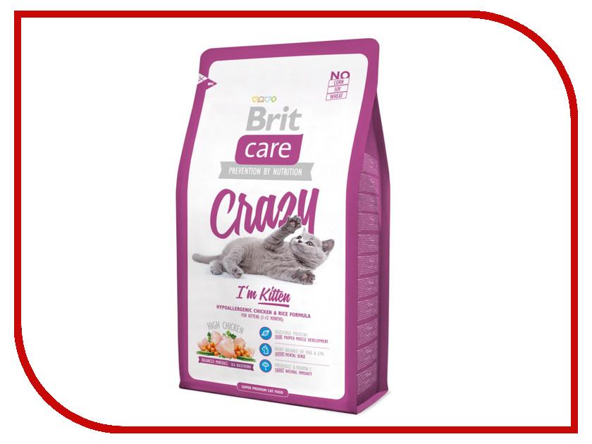 Корм Brit Care Cat Crazy Kitten 7kg для котят 132600/5517<br>