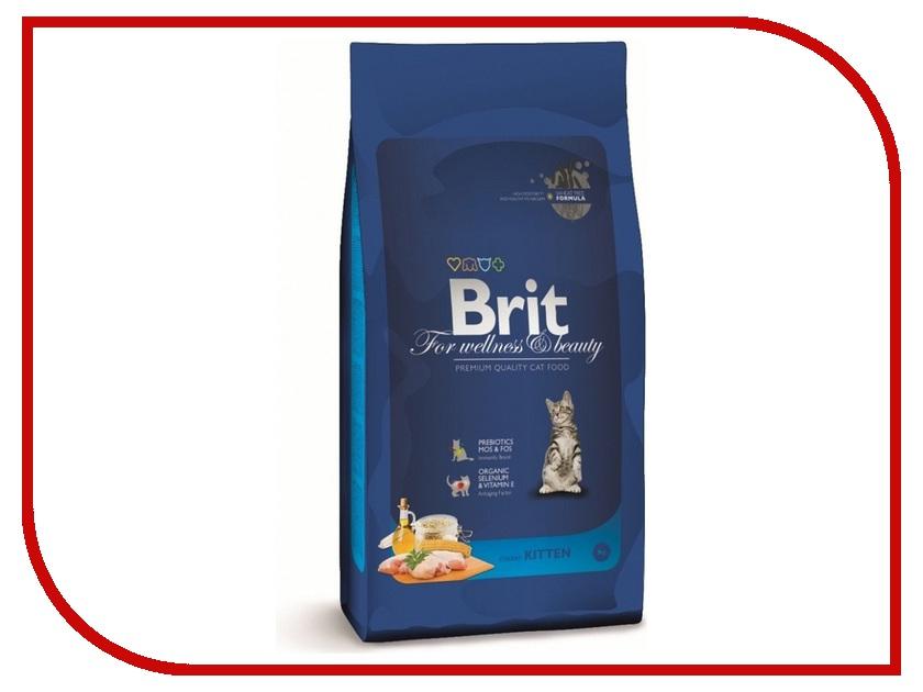 Корм Brit Premium Cat Kitten 0.3kg для котят 110410/3896<br>
