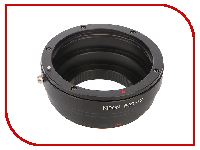 Кольцо Kipon Adapter Ring Canon EOS - Fuji X / EOS-FX t2 pk lens mount ring adapter for pentax pk slr m42 x 0 75mm