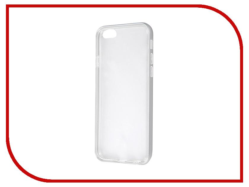 Аксессуар Чехол Anymode Metal Bumper Plus для APPLE iPhone 6S FA00013KSV Silver<br>