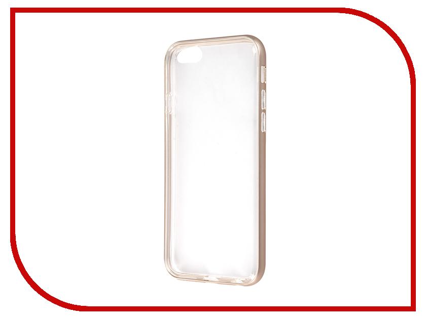 Аксессуар Чехол Anymode Metal Bumper Plus для APPLE iPhone 6S FA00099KGD Gold<br>