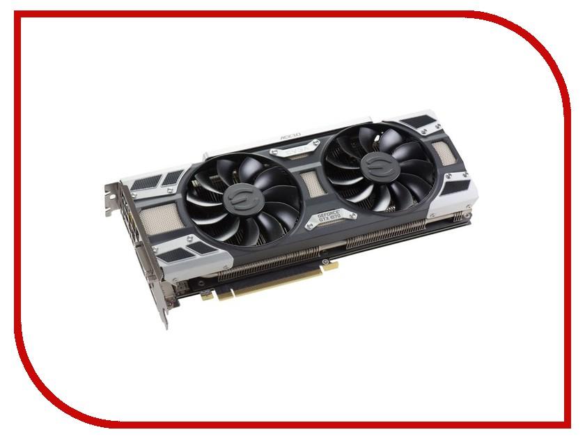 Видеокарта EVGA GeForce GTX 1070 1594Mhz PCI-E 3.0 8192Mb 8008Mhz 256 bit DVI HDMI HDCP 08G-P4-6173-KR