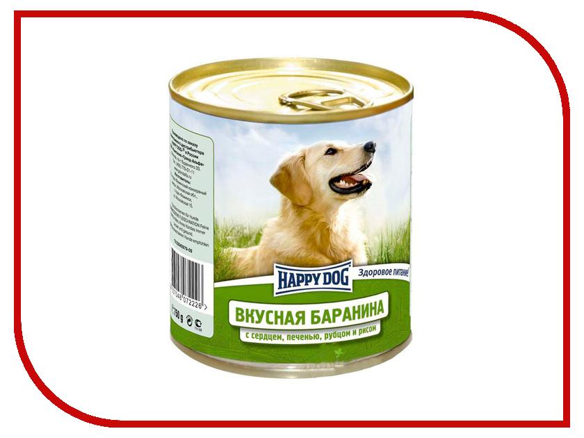 Корм Happy Dog Баранина/Сердце 750g 72226/4002<br>
