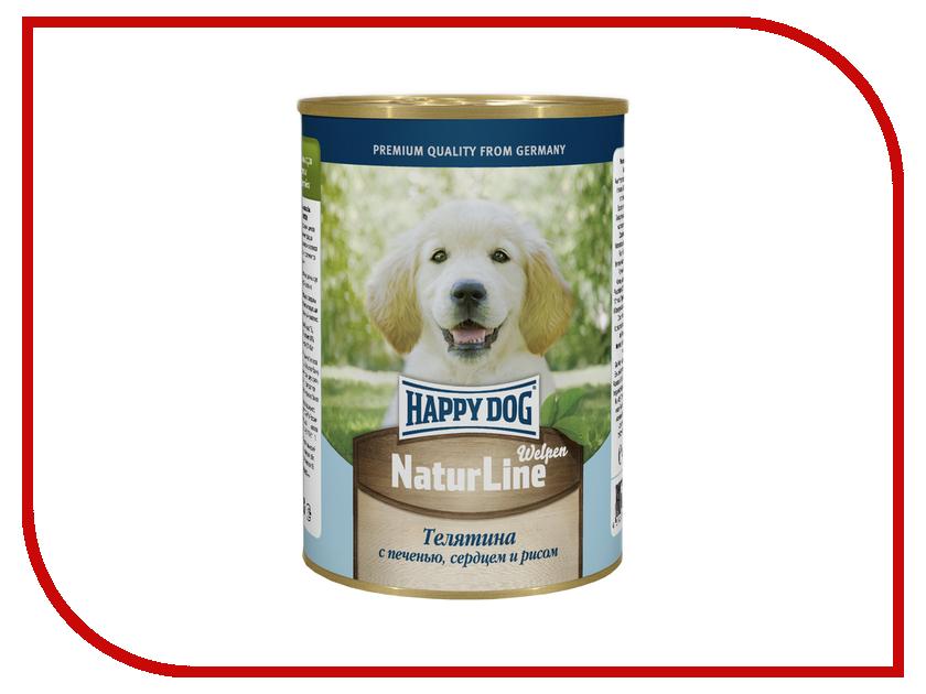 Корм Happy Dog Телятина с печенью 400g 72196 для щенков<br>