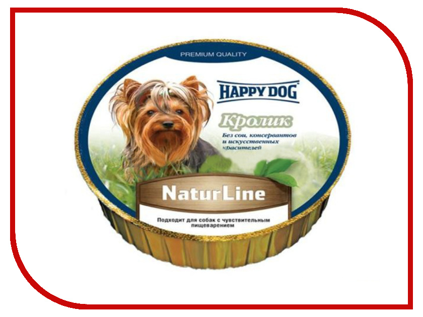Корм Happy Dog Кролик 125g 71504