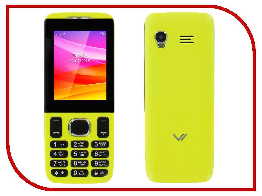 Сотовый телефон Vertex D503 Yellow