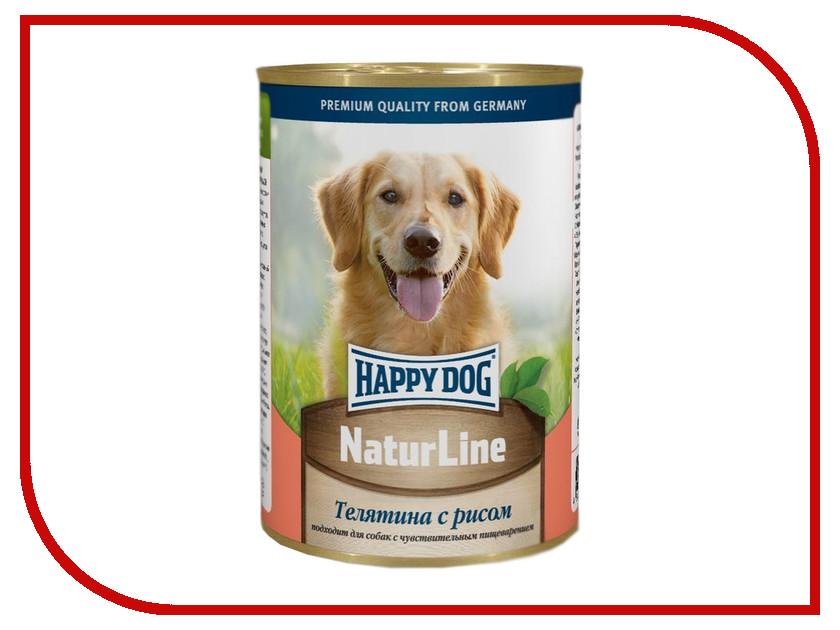 Корм Happy Dog Телятина/Рис 400g 71465
